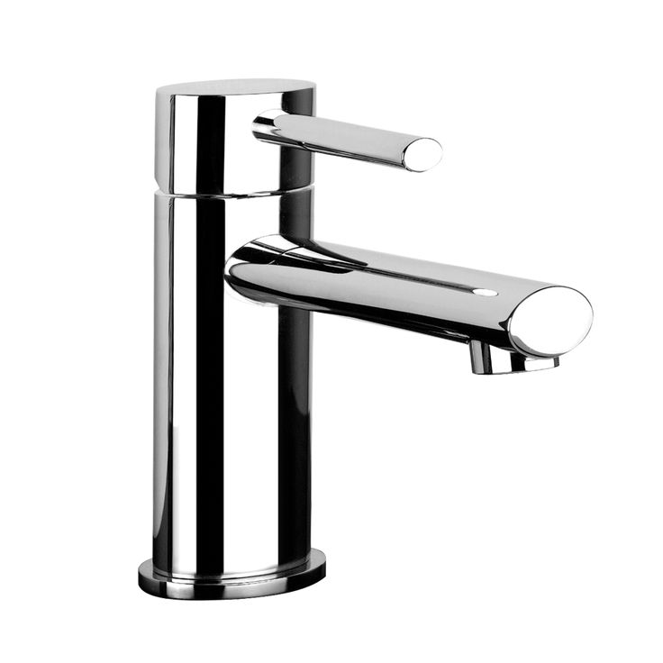"Gessi products, Basin mixer with 1 1/4"" pop-up waste and flexible hoses with 3/8"" connections."