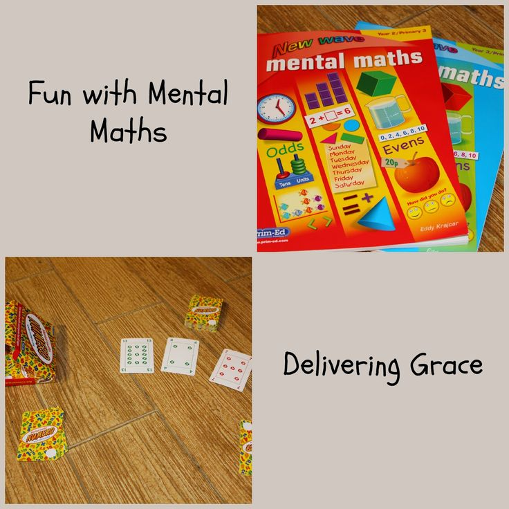 delivering grace: Fun with Mental Maths. Review of Numero mental maths game.