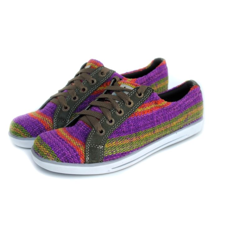 Andiz Women's Handmade Multi-colored, Low-cut Oxford Shoes