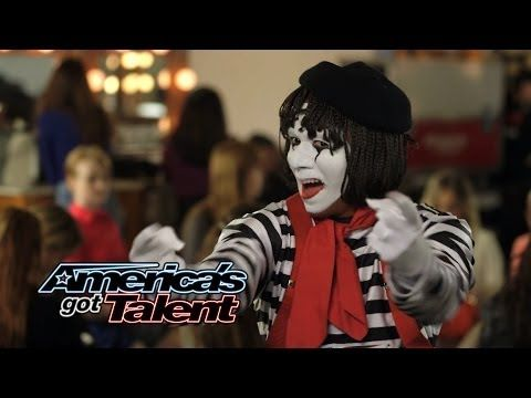 Larry The Mime: Nick Cannon Pulls Prank On Judges - America's Got Talent 2014 (Highlight) - YouTube