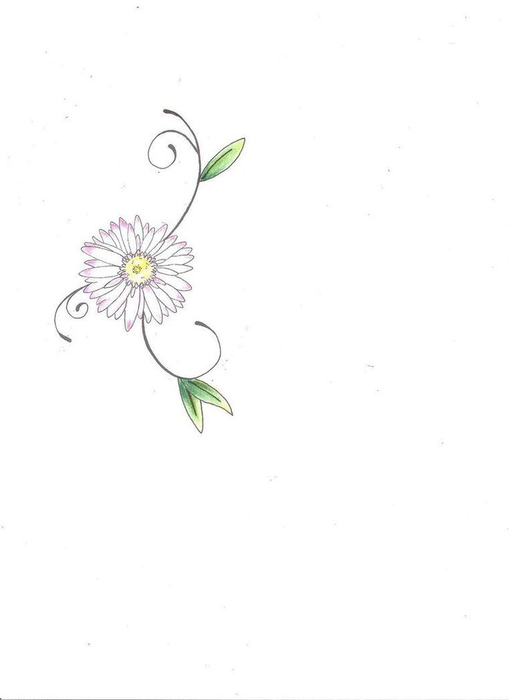 20+ Daisy Tattoo Designs