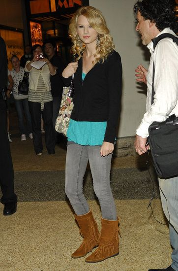 The 20 Totally Random Times We Saw Taylor Swift In Jeans