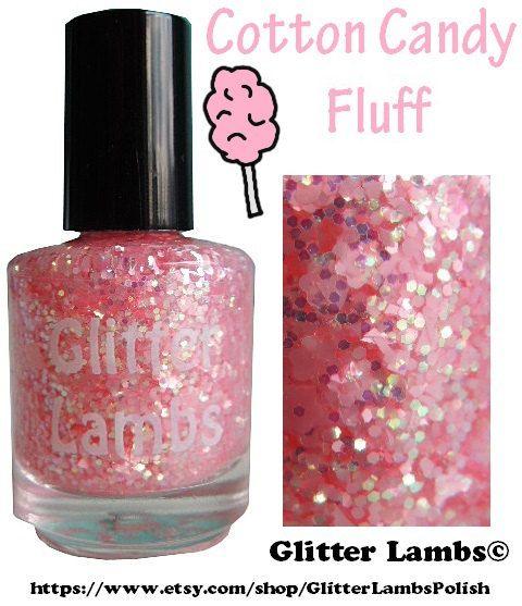 Cotton Candy Glitter Nails: 17 Best Ideas About Glitter Nail Polish On Pinterest