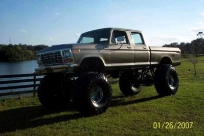 Camo Ford F250 Lifted | Classic 1978 Ford F250 for sale in Geneva, Florida, Ad #8936034