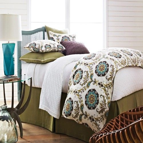Peacock alley cordova bedding by peacock alley bedding comforters comforter sets duvets - Peacock bedspreads ...