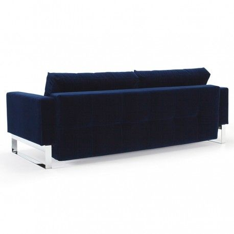 CASSIUS EXCESS DELUXE QUEEN SOFA BED ~~ A fresh twist to the Danish Mid-century trend, the Cassius Deluxe Excess Lounger presents a smart investment for your living space.