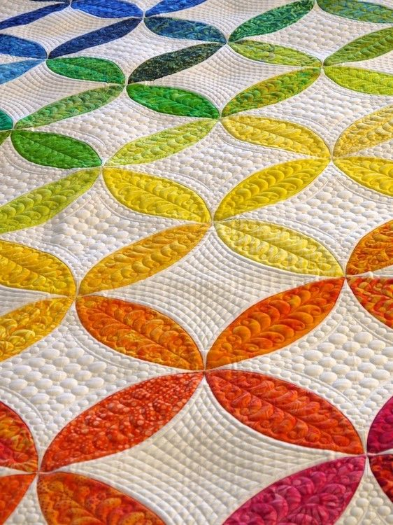 261 best Rainbow quilts images on Pinterest | Challenges, Drawings ... : rainbow quilt pattern - Adamdwight.com