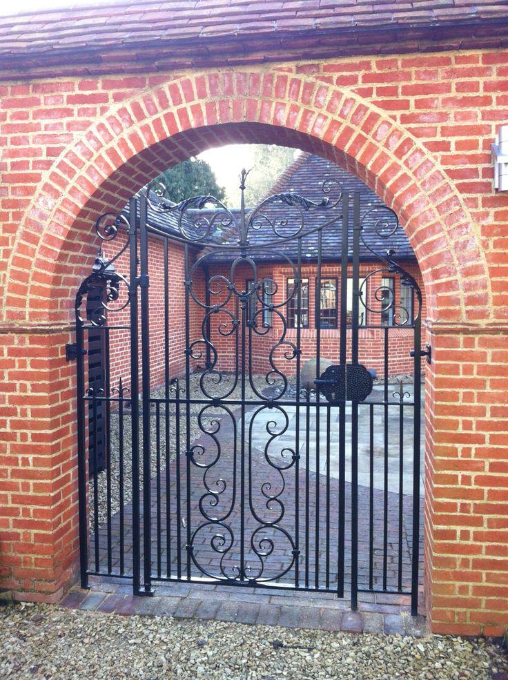 Hand made gate