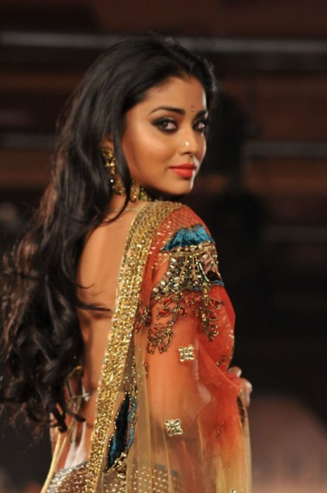 Actor Shriya Saran @shriya_s in an equally radiant @neeta_lulla http://neetalulla.com/ Lehenga Ensemble
