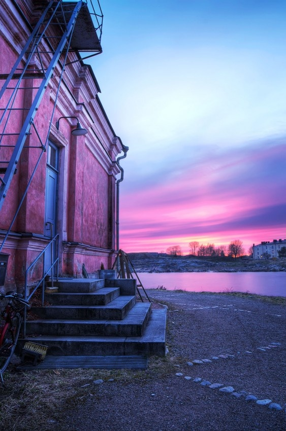 Suomenlinna sea fortress is at its best during the summer. Take the ferry from the market square departing every 20 minutes.
