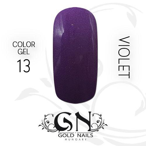 Gyönyörű lila színű zselénk kifutó termék, rendeljen, míg lehet!  http://goldnails.eu/termek/color-gel-13-violet-5-g/