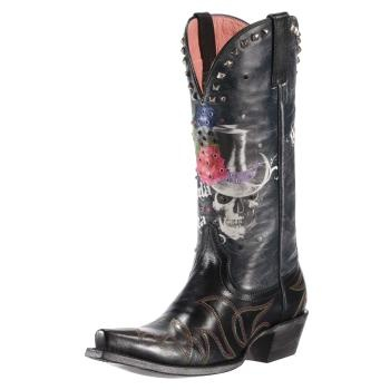 Cowgirl Boots With Skulls - Yu Boots