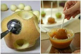 : Mini Caramel Apples