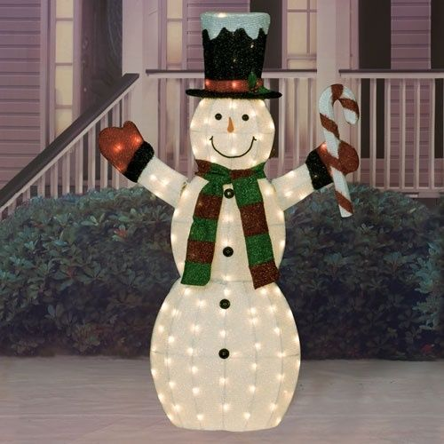 Outdoor Indoor Holiday Yard Art Decoration Large Christmas