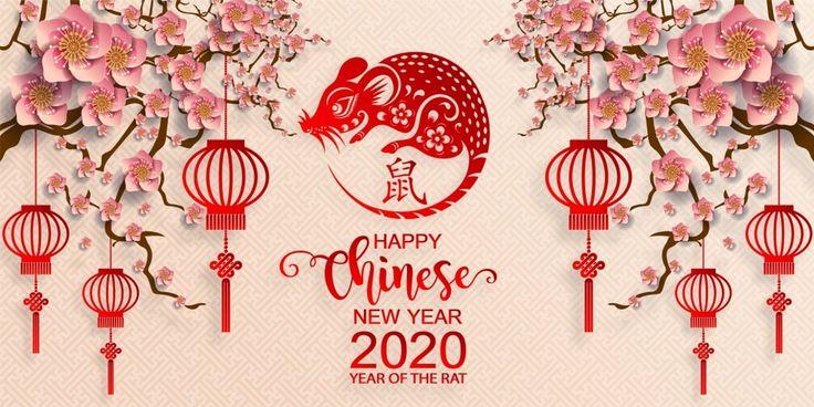 Happy Chinese New Year 2020 Wallpapers (Dengan gambar