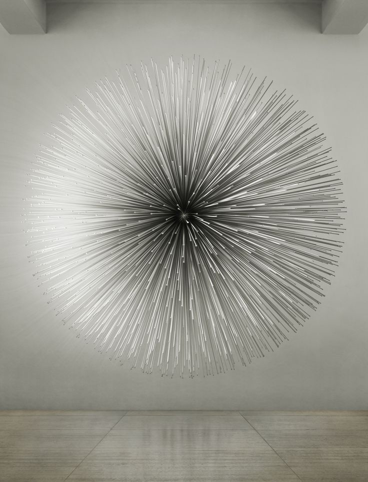 'soft crash' aluminum sound sculpture by Kim Byoungho. There is one of these at a library in Omaha as well.... very neat.
