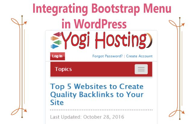 How to Integrate a Bootstrap Menu Into Your WordPress Website