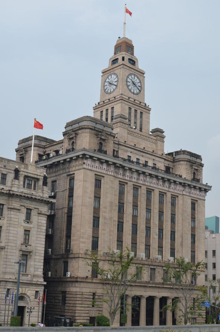mooie gebouwen in sjanghai