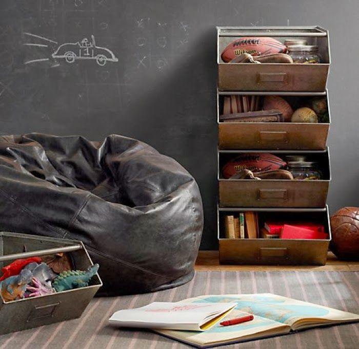 restorationhardware storage for kids