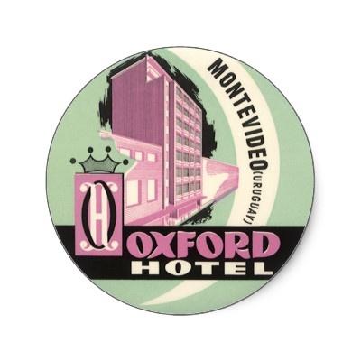 Oxford Hotel, Mentevideo, Uruguay