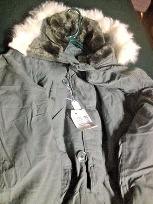 NEW US Army Military Extreme Cold Weather Snorkel Parka Jacket Coat, Free Ship