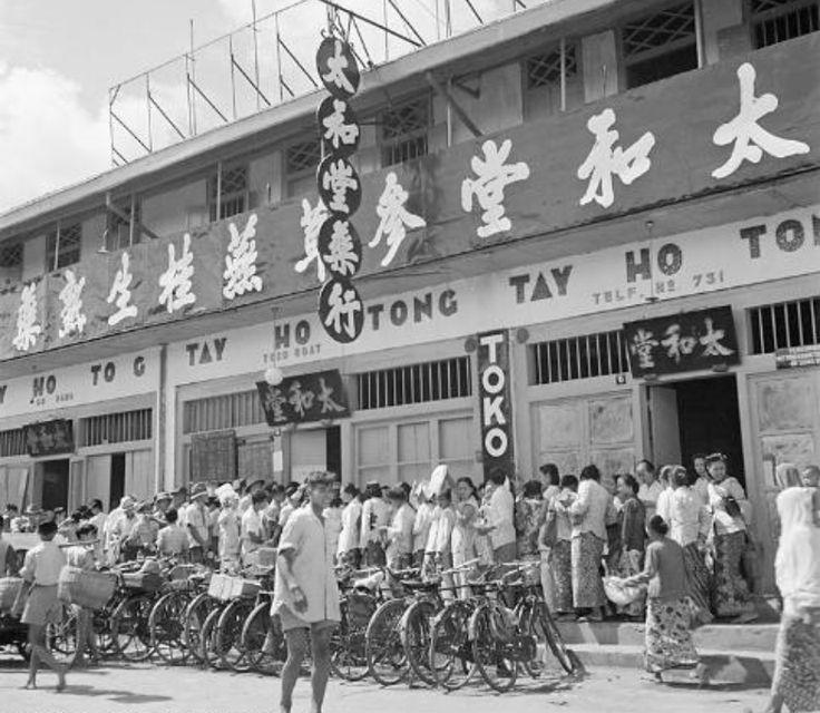 Pasar Baru, Jakarta Januari 1947