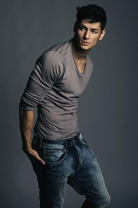 ZoaZoa : Men's Health: Half Japanese Half Brazilian Male Model Hideo Mura...