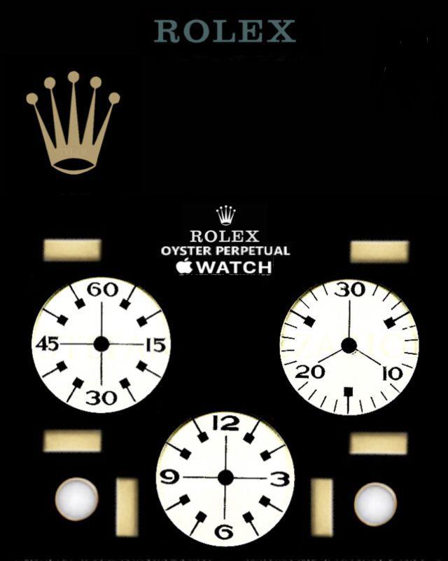 Rolex Apple Suivre Visage Personnalise Par T Fond L R Apple Watch Custom Faces Apple Watch Wallpaper Apple Watch Faces Best apple watch wallpapers