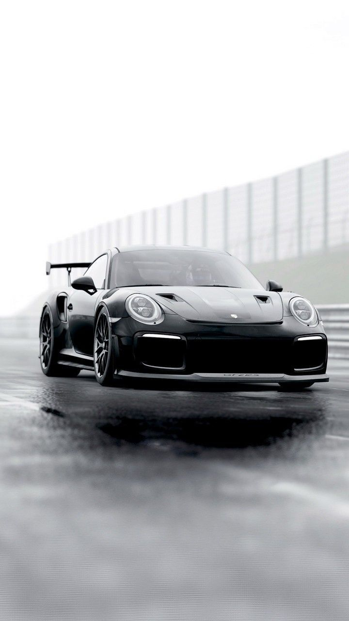 Hd Phone Wallpaper In 2020 Black Porsche Porsche 911 Gt2 Supercars Wallpaper