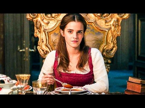 BEAUTY AND THE BEAST 'Something There' Movie Clip + Trailer (2017) - YouTube