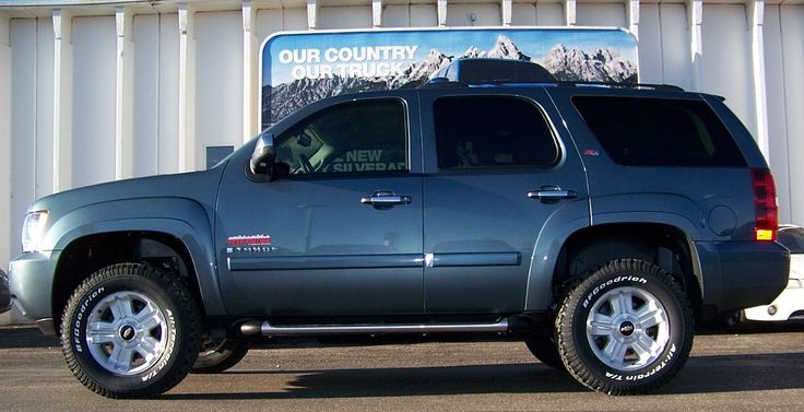 leveled 2008 Tahoe | Chevy Trucks | Chevy tahoe z71, Chevy ...