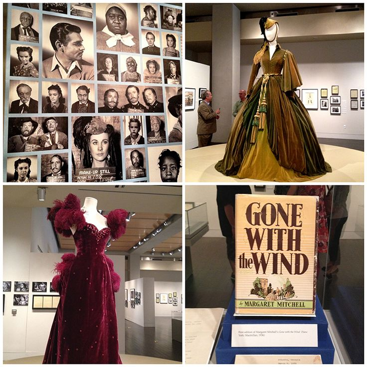 The Making of Gone with the Wind exhibit at the Harry Ransom Center in Austin, Texas. Exhibit runs through January 4, 2015.