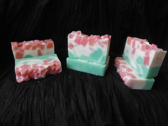 10 X Rose Bouquet Soap♥Handmade in Australia♥Organic♥Natural Soap♥for every day.