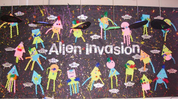 Aliens classroom display photo - Photo gallery - SparkleBox