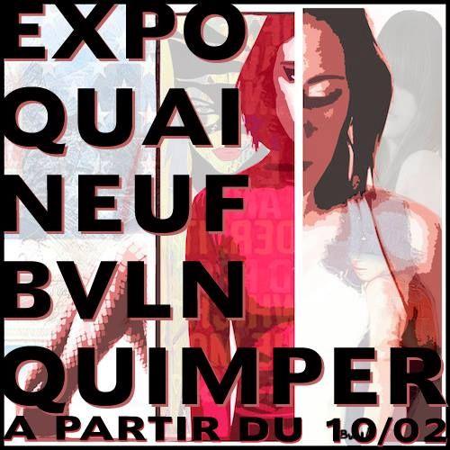 Expo à partir du 10 février 2014 #quimper #leQuaineuf