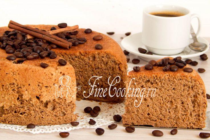 Кофейный бисквит - рецепт с фото