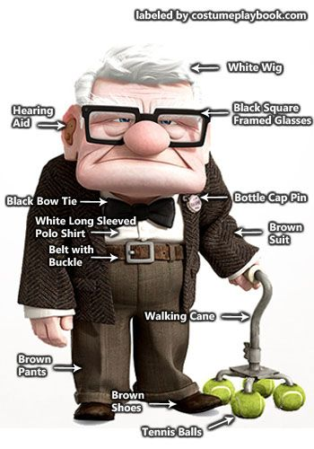 Up - Carl Fredricksen senior outfit