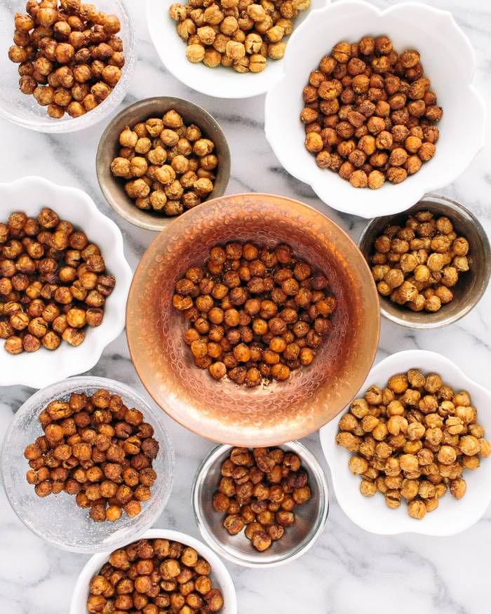 spiced roasted chickpeas chickpea snacks chickpea recipes healthy ...