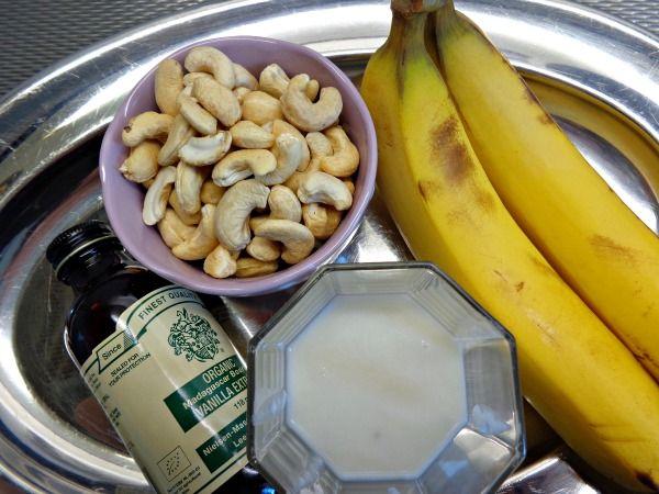 Romig banaan dessert