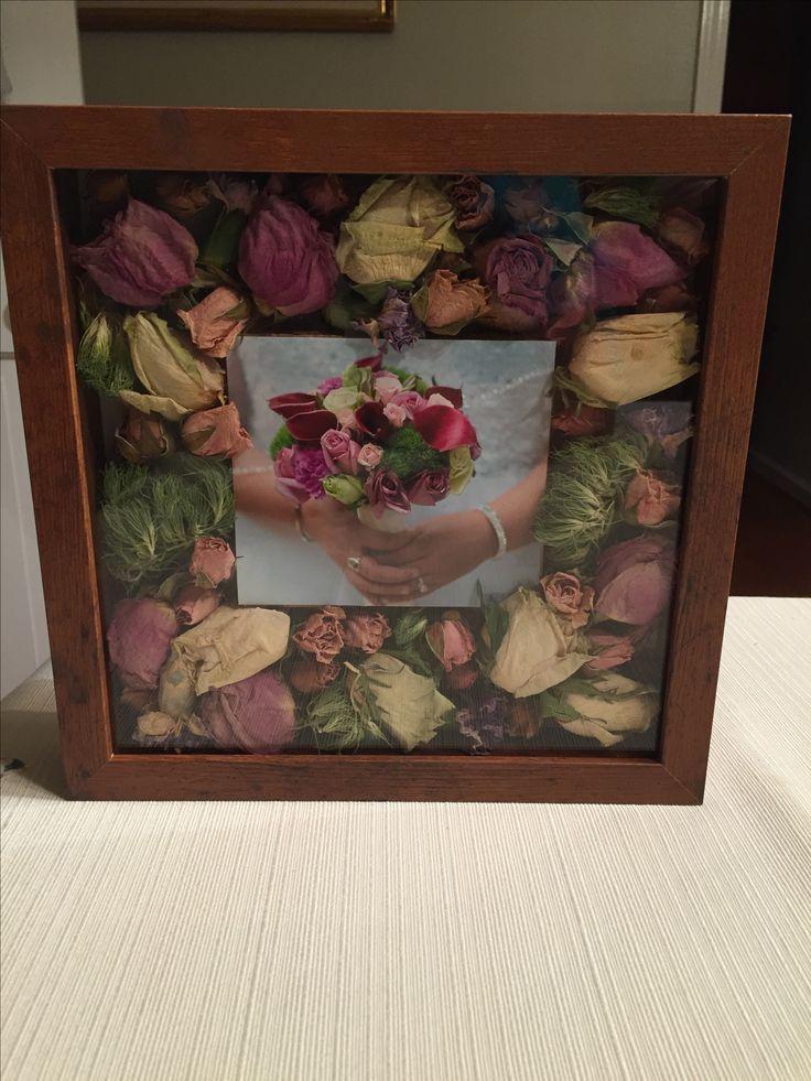 Jennis Hochzeitsstrauss Bluht In Einer Shadow Box Shadow Box