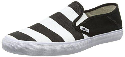 Vans Slip-on Sf, Herren Sneakers, Schwarz (stripes/black), 38.5 EU - http://on-line-kaufen.de/vans/38-5-eu-vans-herren-slip-on-sf-sneaker-5