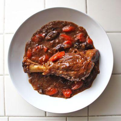 Chomping Board: Braised Guinness Lamb Shank Stew (Paleo- use arrowroot)