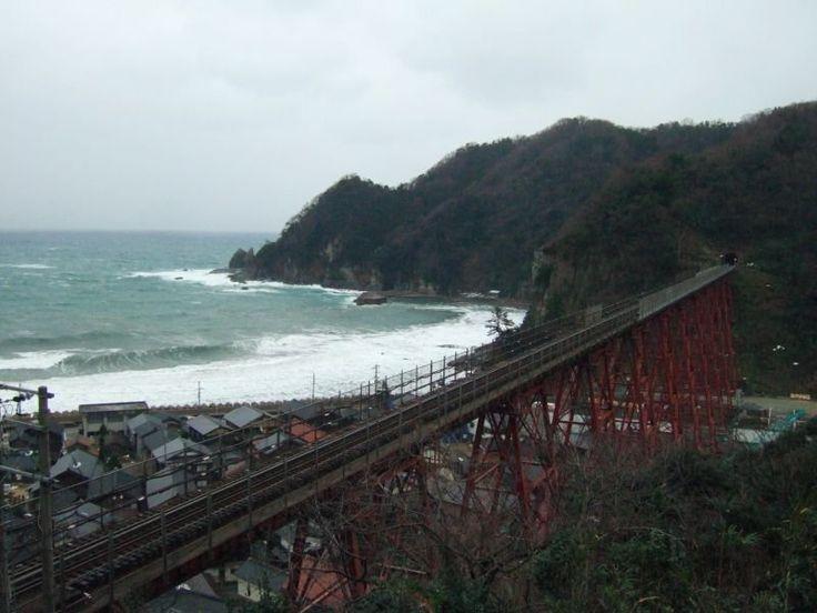 餘部探訪(89)余部鉄橋-「お立ち台」から080113