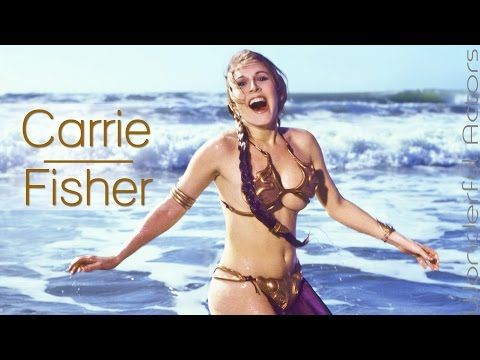 Carrie Fisher Time-Lapse Filmography - Through the years... - YouTube