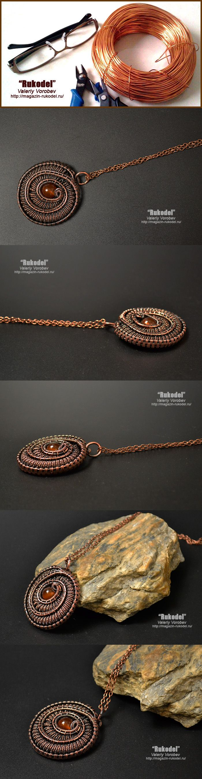 3918 best Jewellery with Wire images on Pinterest   Wire crafts ...