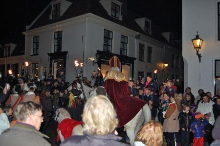 Intocht Sinterklaas in Naarden-Vesting