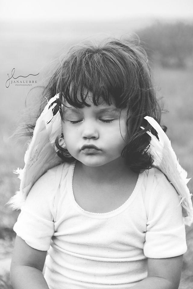 www.janalubbe.com Childrens photography angel