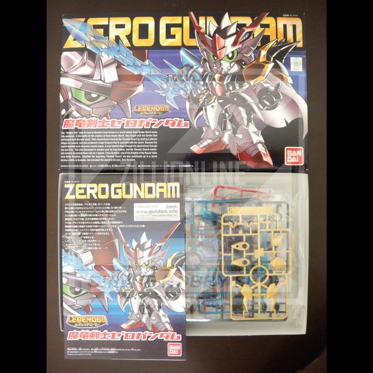[MODEL-KIT] NON-SCALE - SD LEGEND BB DEVIL DRAGON BLADE ZERO GUNDAM. Item Size/Weight : 31 x 20 x 5.8 cm / 250g. (*ITEM SIZE & WEIGHT BEFORE PACKAGED). Condition: MINT / NEW & SEALED RUNNER. Made by BANDAI.