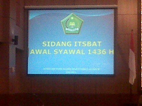 SIDANG ITSBAT 1436 H / 2015