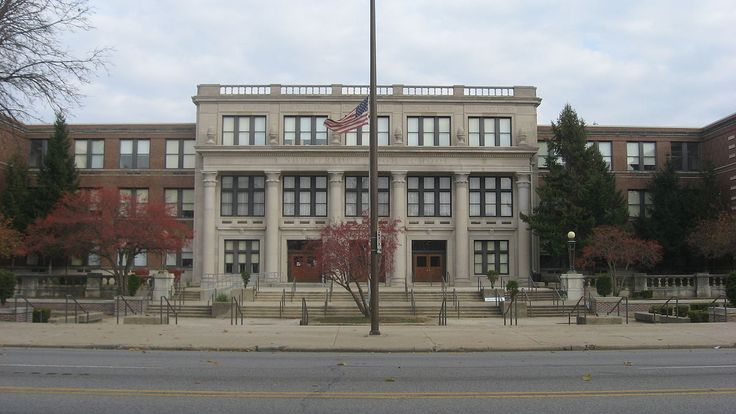 Shortridge High School in Center Township, Marion County, Indiana.